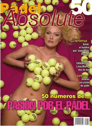 número 50 de la revista Pádel Absolute