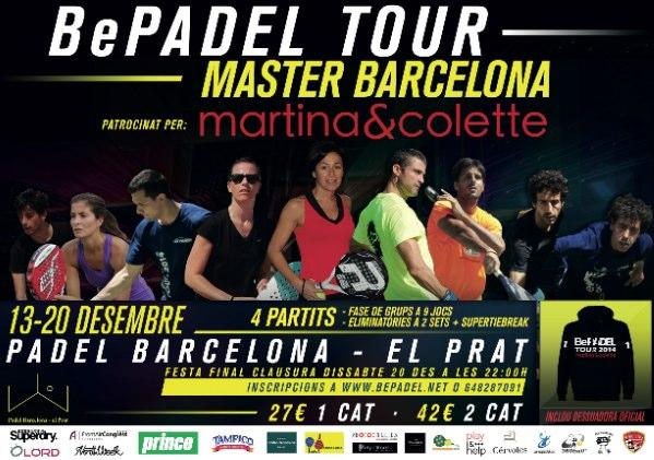 Torneo MASTER BePADEL Tour Barcelona