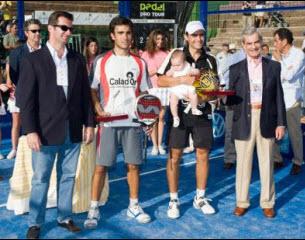 Pablo Lima y Juani Mieres disfrutan su primer título PPT
