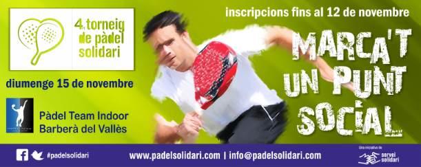 Torneo padel Solidario 4o
