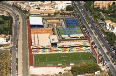 Las magníficas instalaciones del Arena Alicante