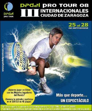padel pro tour III Internacional Ciudad de Zaragoza