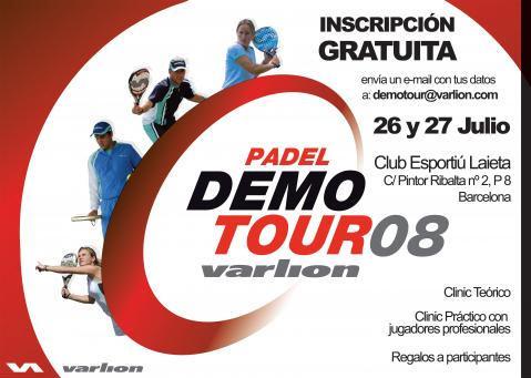 padel Varlion DemoTour Barcelona 2008