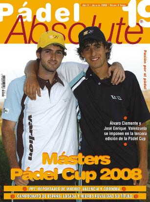 Ya está a la venta el número 19 de la revista de padel Pádel Absolute