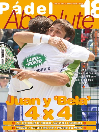 Número de Junio de la revista padel absolute