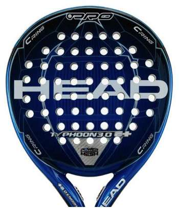 pala de pádel HEAD Typhoon 3.0e+