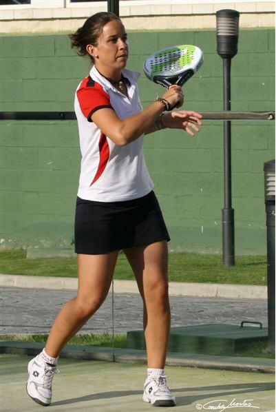 Patty Llaguno campeona de España sub-23 de padel