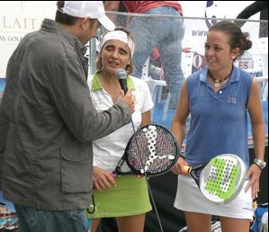 Patty Llaguno y Eva Gayoso