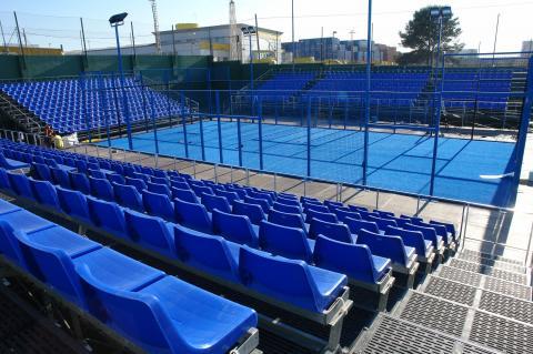 pista central torneo de padel IV Internacional TuTempo - Valencia