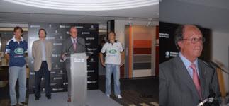 Presentación XI Internacionales de Catalunya de Pádel