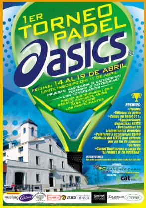 Primer Torneo de Padel ASICS