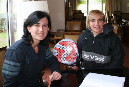 REVES patrocinará a la jugadora de Padel Eva Gayoso