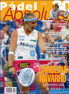 Revista padel Absolute número 30