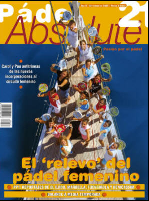 revista padel absolute septiembre