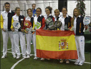 seleccion española de padel femenina