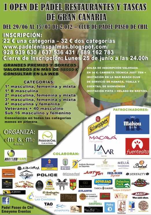 I open Gran Canaria
