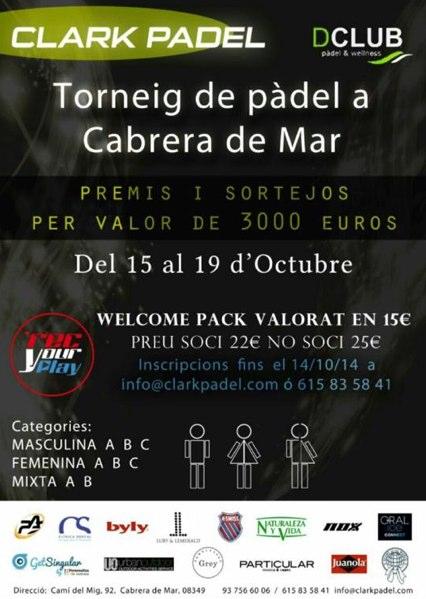 Torneo Clark Padel en el Dclub