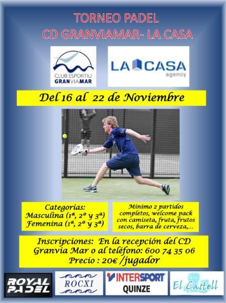 torneo Padel CD Granvia Mar - La casa Agency