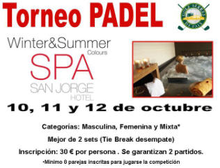 torneo de padel winter Summer