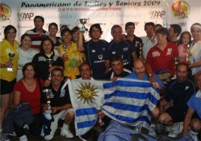 Uruguay campeon de padel panamericano 2009
