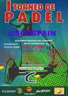 uscoxspain organizará torneos de padel por España
