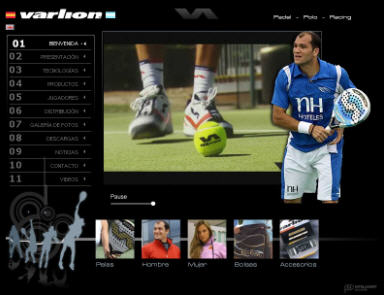 Pagina web de varlion