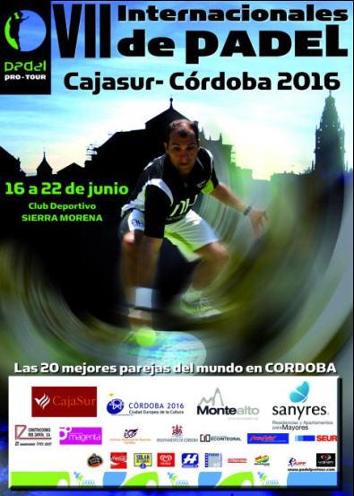 VII Internacionales de padel Cajasur-Cordoba 2016