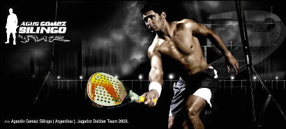 Web de la marca de palas de padel Dabber'