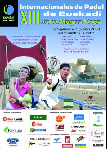 XIII Internacionales de Euskadi Copa Julio Alegria - Julio Alegria - www.padelbarcelona.es