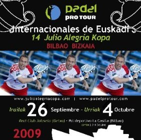 XIV Internacionales de Euskadi - Julio Alegria. Padel