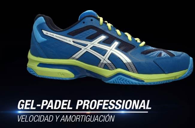 Nuevas zapatillas de padel ASICS GEL Professional 2